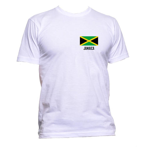 AppleWormDesign • Jamaica Flag Pocket gift - Men's T-Shirt •