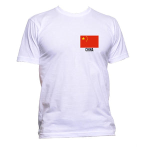 AppleWormDesign • China Flag Pocket gift - Men's T-Shirt •