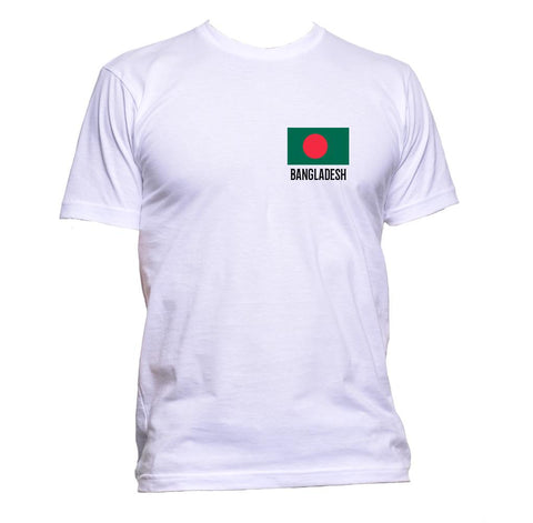 AppleWormDesign • Bangladesh Flag Pocket gift - Men's T-Shirt •