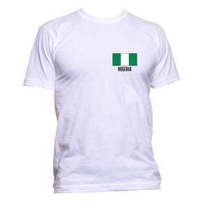 AppleWormDesign • Nigeria Flag Pocket gift - Men's T-Shirt •