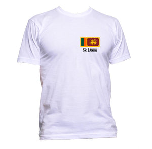 AppleWormDesign • Sri Lanka Flag Pocket gift - Men's T-Shirt •