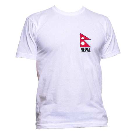 AppleWormDesign • Nepal Flag Pocket gift - Men's T-Shirt •