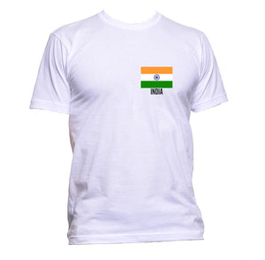 AppleWormDesign • India Flag Pocket Indian gift - Men's T-Shirt •