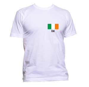 AppleWormDesign • Ireland Eire Flag Pocket gift - Men's T-Shirt •