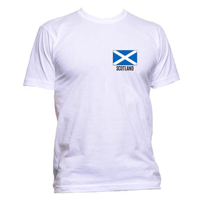 AppleWormDesign • Scotland Flag Pocket gift - Men's T-Shirt •