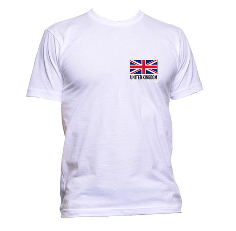 AppleWormDesign • United Kingdom Flag Pocket UK gift - Men's T-Shirt •