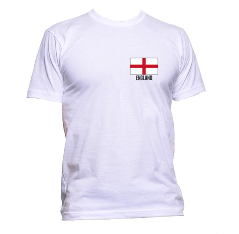 AppleWormDesign • England Flag Pocket gift - Men's T-Shirt •