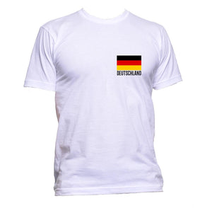 AppleWormDesign • Deutschland Germany Flag Pocket gift - Men's T-Shirt •