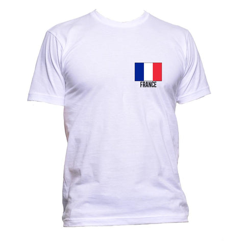AppleWormDesign • France Flag Pocket gift - Men's T-Shirt •