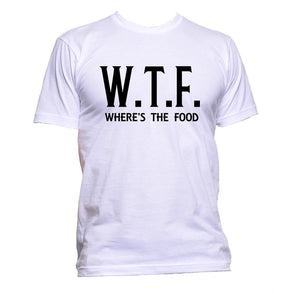 AppleWormDesign • WTF Where's The Food Offensive gift - Men's T-Shirt •