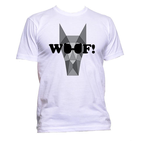 AppleWormDesign • Dog Woof Glasses Animal gift - Men's T-Shirt •
