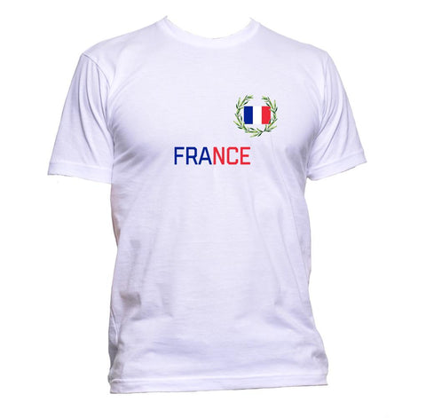AppleWormDesign • France Flag gift - Men's T-Shirt •