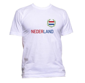 AppleWormDesign • Nederland Flag Dutch gift - Men's T-Shirt •