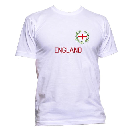 AppleWormDesign • England Flag gift - Men's T-Shirt •