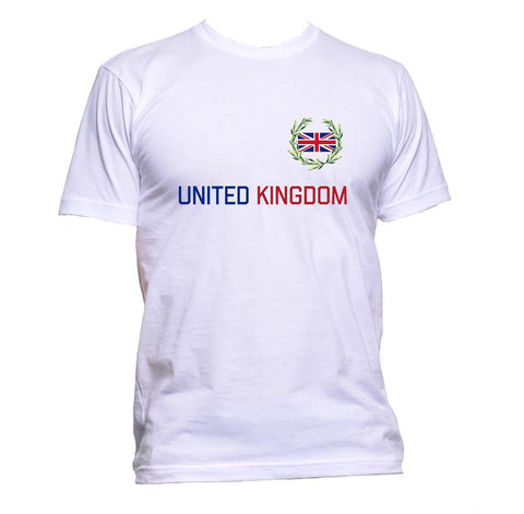 AppleWormDesign • United Kingdom Flag Britain UK gift - Men's T-Shirt •