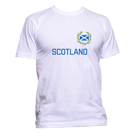 AppleWormDesign • Scotland Flag gift - Men's T-Shirt •