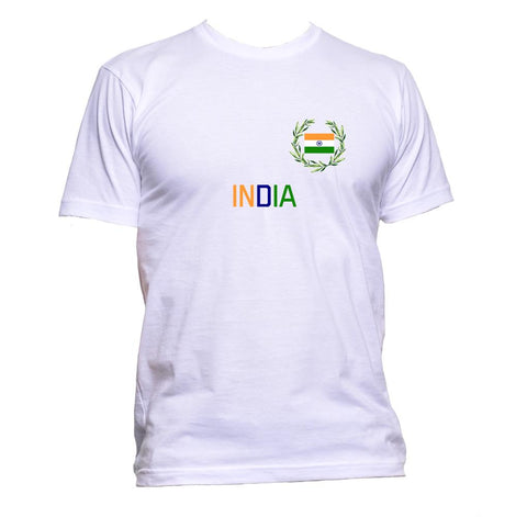 AppleWormDesign • India Flag Indian gift - Men's T-Shirt •