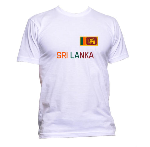 AppleWormDesign • Sri Lanka Flag gift - Men's T-Shirt •