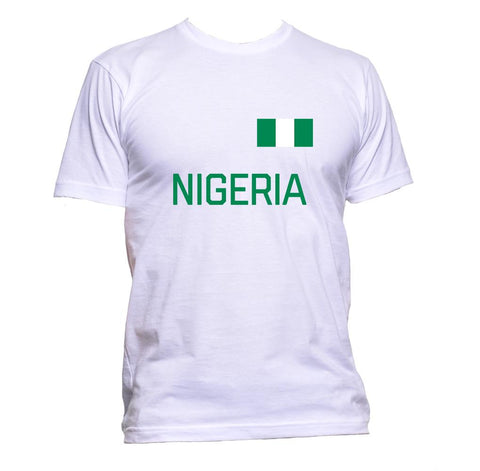 AppleWormDesign • Nigeria Flag gift - Men's T-Shirt •