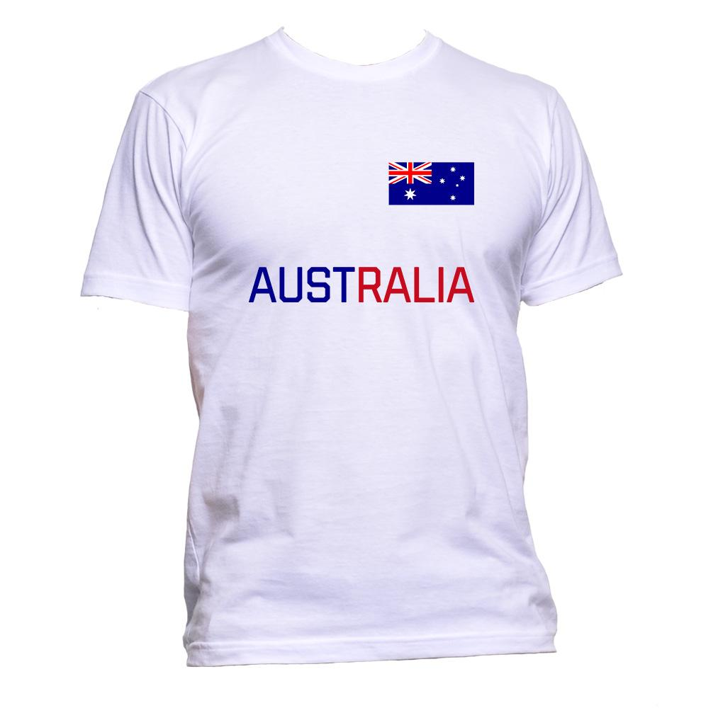 AppleWormDesign • Australia Flag gift - Men's T-Shirt •