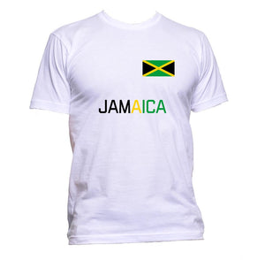 AppleWormDesign • Jamaica Flag gift - Men's T-Shirt •
