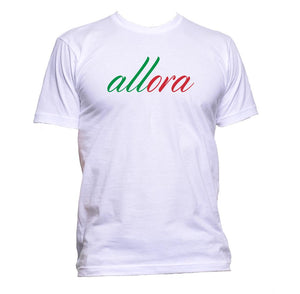 AppleWormDesign • Allora Italian gift - Men's T-Shirt •