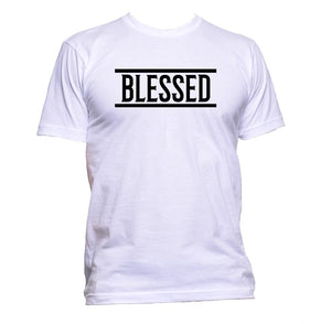 AppleWormDesign • Blessed Slogan gift - Men's T-Shirt •