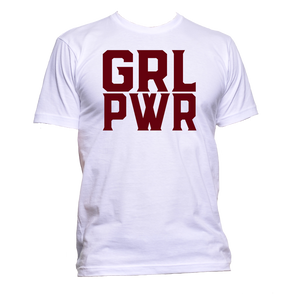 AppleWormDesign • GRL PWR Girl Power gift - Men's T-Shirt •