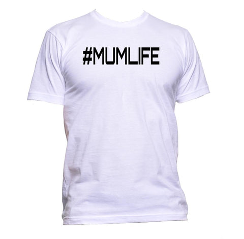 AppleWormDesign • # Mumlife Hashtag Mother Mum Family gift - Men's T-Shirt •
