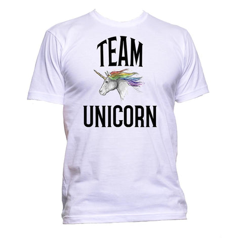 AppleWormDesign • Team Unicorn gift - Men's T-Shirt •