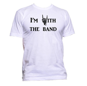 AppleWormDesign • I'm With The Band Music gift - Men's T-Shirt •