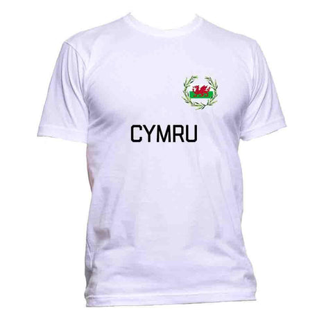 AppleWormDesign • Cymru Wales Flag gift - Men's T-Shirt •