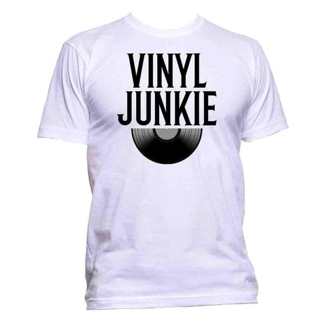 AppleWormDesign • Vinyl Junkie Record gift - Men's T-Shirt •