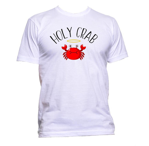 AppleWormDesign • Holy Crab gift - Men's T-Shirt •