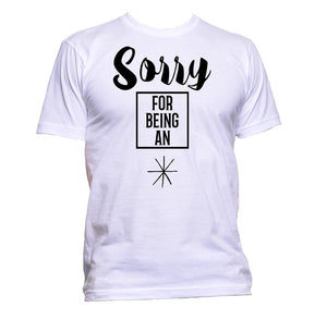 AppleWormDesign • Sorry For Being An A**hole gift - Men's T-Shirt •