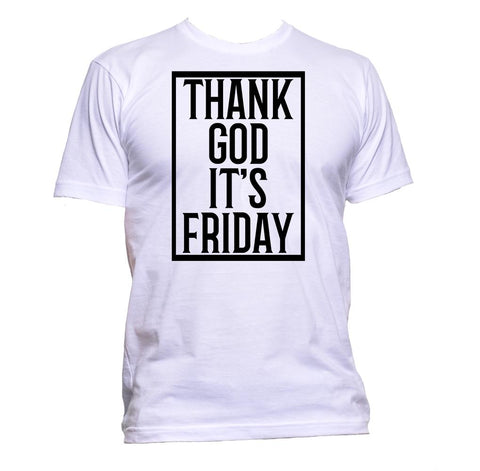 AppleWormDesign • Thank God It's Friday gift - Men's T-Shirt •