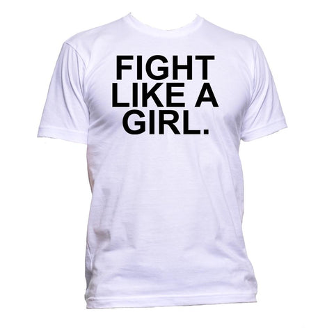 AppleWormDesign • Fight Like A Girl Feminist gift - Men's T-Shirt •