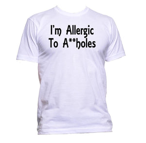 AppleWormDesign • I'm Allergic To A**holes gift - Men's T-Shirt •
