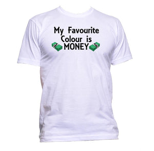 AppleWormDesign • My Favourite Colour Is Money gift - Men's T-Shirt •