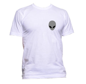 AppleWormDesign • Alien Grey Pocket gift - Men's T-Shirt •