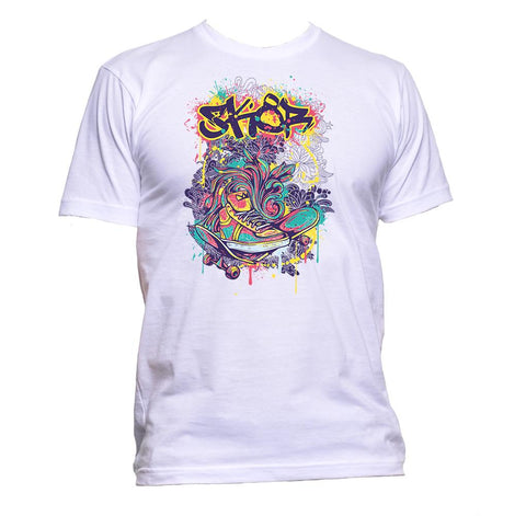 AppleWormDesign • Skateboard Outdoor Sport gift - Men's T-Shirt •