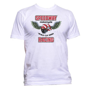 AppleWormDesign • Speedway Motorcycle Racing gift - Men's T-Shirt •