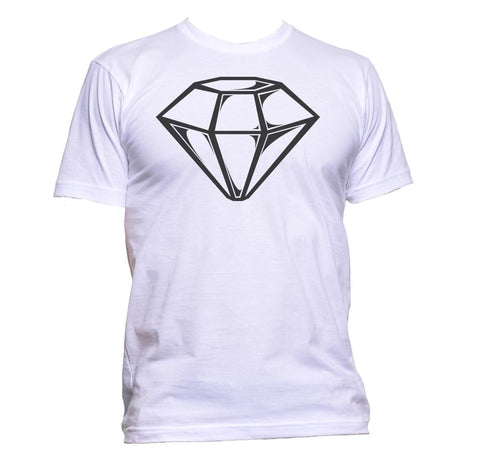AppleWormDesign • White Diamond gift - Men's T-Shirt •