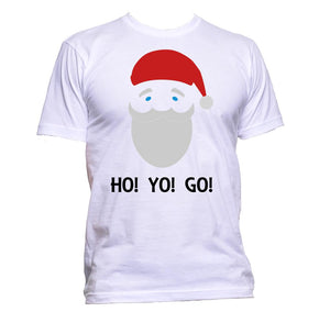 AppleWormDesign • Santa Claus Christmas Ho Yo Go gift - Men's T-Shirt •