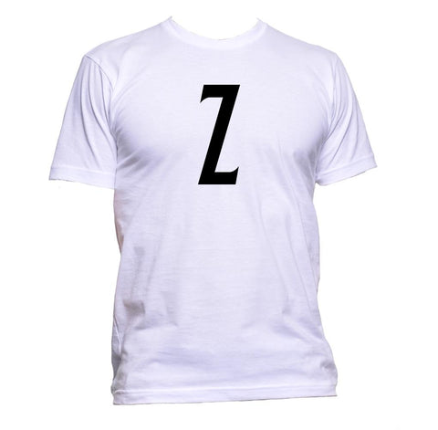 AppleWormDesign • Z Letters Of The Alphabet Collection gift - Men's T-Shirt •