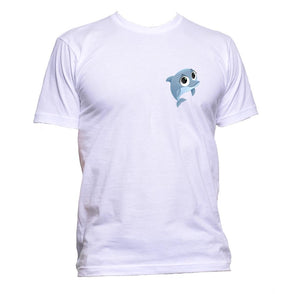 AppleWormDesign • Cute Dolphin Pocket gift - Men's T-Shirt •
