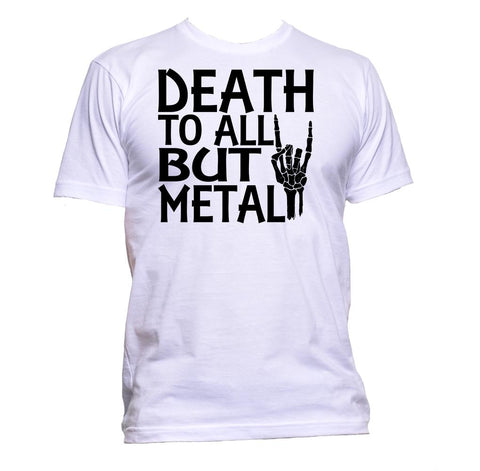 AppleWormDesign • Death To All But Metal gift - Men's T-Shirt •