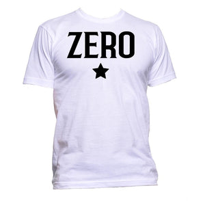 AppleWormDesign • Zero Number With Star gift - Men's T-Shirt •