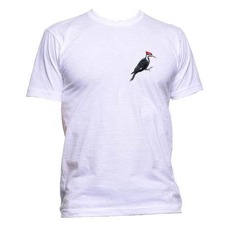 AppleWormDesign • Woodpecker Pocket gift - Men's T-Shirt •