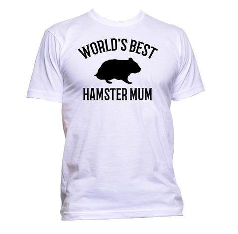 AppleWormDesign • World's Best Hamster Mum gift - Men's T-Shirt •